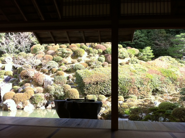 京都智積院にて