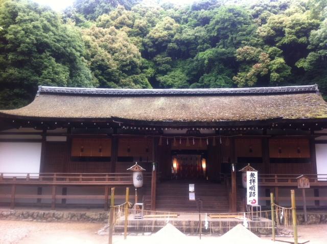 日本一古い世界遺産の宇治上神社